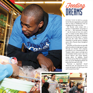 OKC Thunder Community Cares